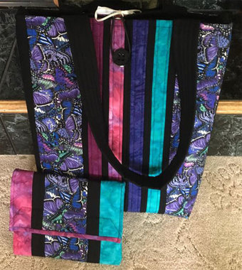 Unique bags by Cottage Quilting on Superior.